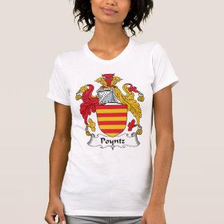 Escudo de la familia de Poyntz Camisetas