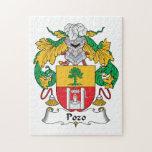 Escudo de la familia de Pozo Rompecabeza