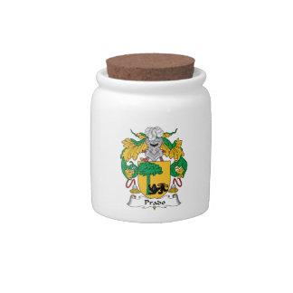 Escudo de la familia de Prado Jarras Para Caramelos