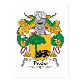 Escudo de la familia de Prado Postal