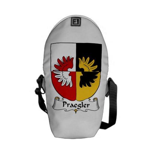 Escudo de la familia de Praegler Bolsa De Mensajería
