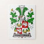 Escudo de la familia de Praetorius Rompecabeza Con Fotos