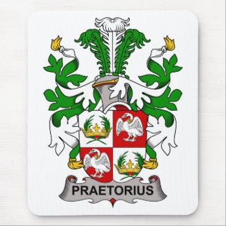Escudo de la familia de Praetorius Tapetes De Raton