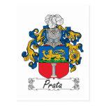 Escudo de la familia de Prata Postales