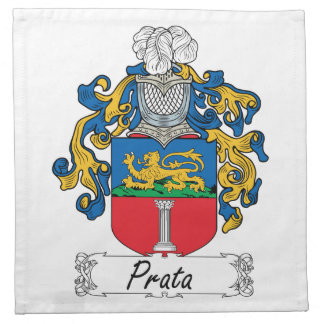 Escudo de la familia de Prata Servilletas De Papel