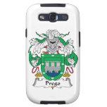 Escudo de la familia de Prego Galaxy S3 Protector