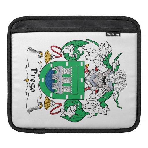 Escudo de la familia de Prego Mangas De iPad