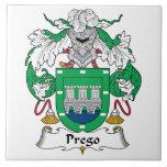 Escudo de la familia de Prego Teja