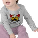 Escudo de la familia de Prentis Camiseta
