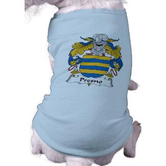 Escudo de la familia de Presno Camisas De Mascota