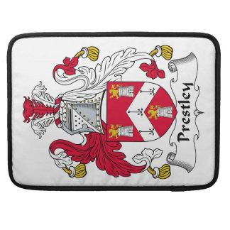 Escudo de la familia de Prestley Funda Macbook Pro