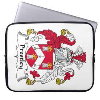 Escudo de la familia de Prestley Funda Portátil