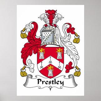 Escudo de la familia de Prestley Impresiones