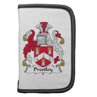 Escudo de la familia de Prestley Planificador