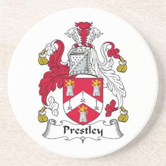 Escudo de la familia de Prestley Posavaso Para Bebida