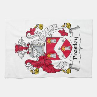Escudo de la familia de Prestley Toalla