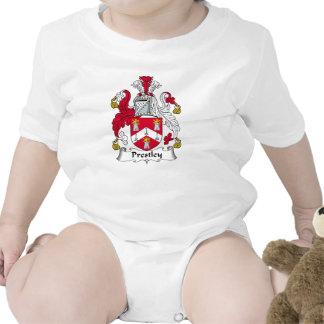 Escudo de la familia de Prestley Traje De Bebé