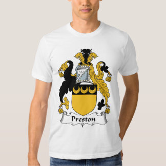 Escudo de la familia de Preston Playeras