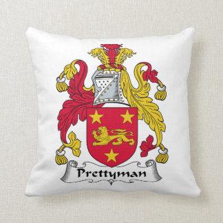 Escudo de la familia de Prettyman Cojin