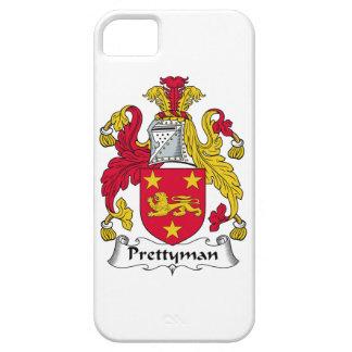 Escudo de la familia de Prettyman iPhone 5 Case-Mate Coberturas