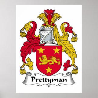 Escudo de la familia de Prettyman Impresiones
