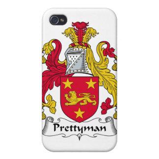 Escudo de la familia de Prettyman iPhone 4 Funda