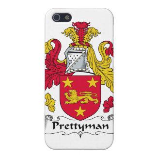 Escudo de la familia de Prettyman iPhone 5 Funda