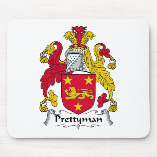 Escudo de la familia de Prettyman Alfombrilla De Ratones