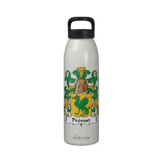 Escudo de la familia de Prevost Botella De Agua