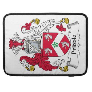 Escudo de la familia de Priddle Fundas Macbook Pro
