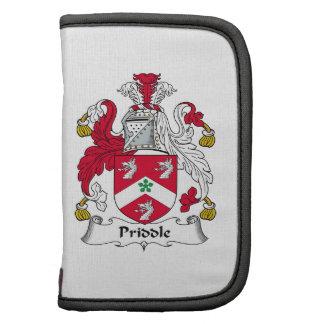 Escudo de la familia de Priddle Organizador