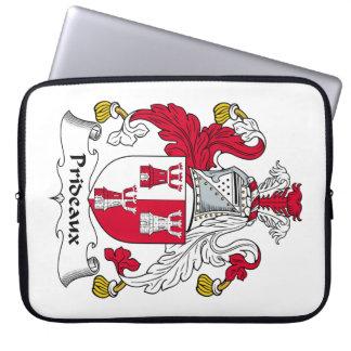 Escudo de la familia de Prideaux Funda Ordendadores