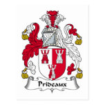 Escudo de la familia de Prideaux Postales