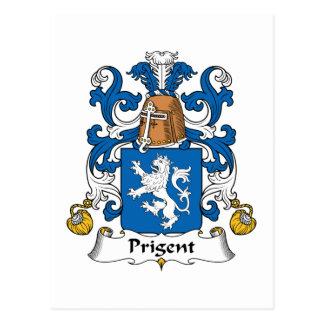 Escudo de la familia de Prigent Postal