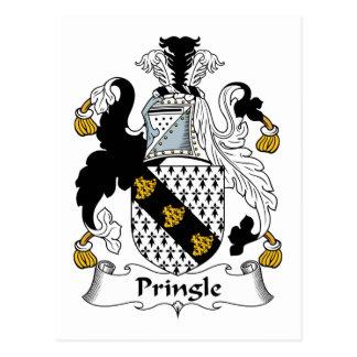 Escudo de la familia de Pringle Postales