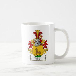 Escudo de la familia de Prins Taza De Café