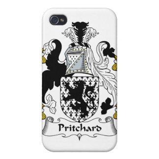 Escudo de la familia de Pritchard iPhone 4 Cobertura