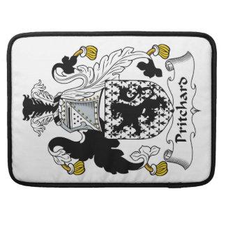 Escudo de la familia de Pritchard Funda Para Macbook Pro