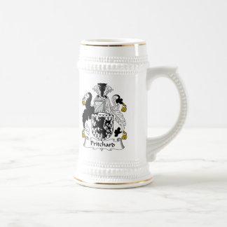 Escudo de la familia de Pritchard Taza De Café