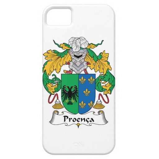 Escudo de la familia de Proenca iPhone 5 Funda