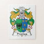 Escudo de la familia de Proenca Puzzles