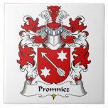 Escudo de la familia de Promnicz Azulejos Ceramicos