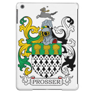 Escudo de la familia de Prosser Funda Para iPad Air