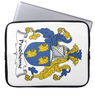 Escudo de la familia de Prudhome Funda Ordendadores