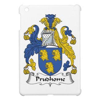 Escudo de la familia de Prudhome iPad Mini Fundas
