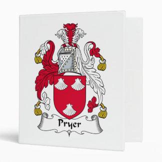 Escudo de la familia de Pryer