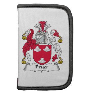 Escudo de la familia de Pryer Planificador