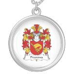 Escudo de la familia de Przerowa Collar Personalizado