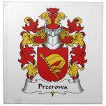 Escudo de la familia de Przerowa Servilletas