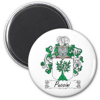 Escudo de la familia de Puccini Imán Redondo 5 Cm